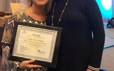 Gaffney marketing director earns certification
