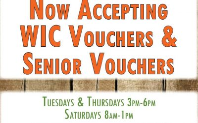 Vouchers are Welcome